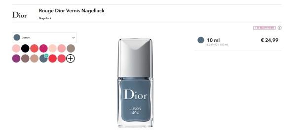 DiorNagellack